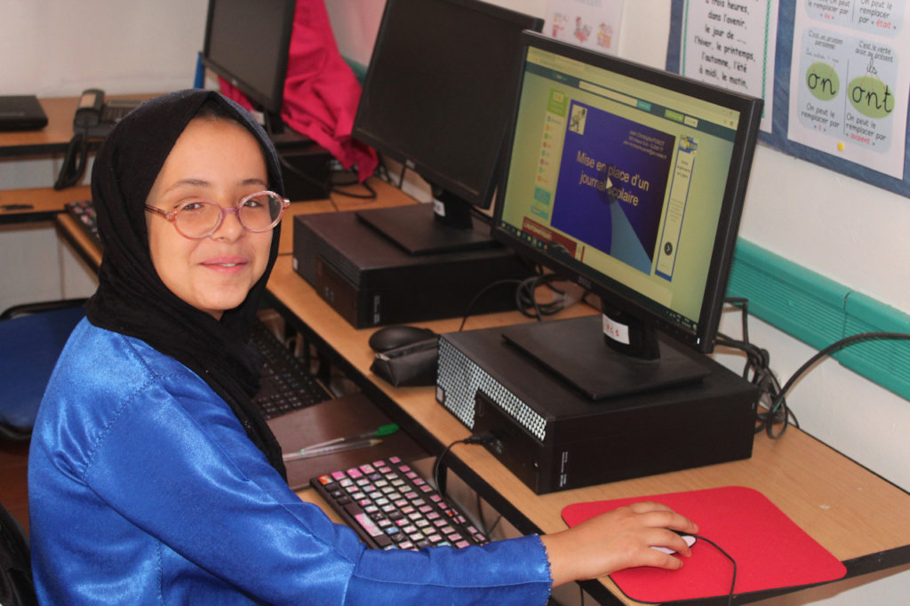 Equip A Computer Room For Girls in Rural Morocco