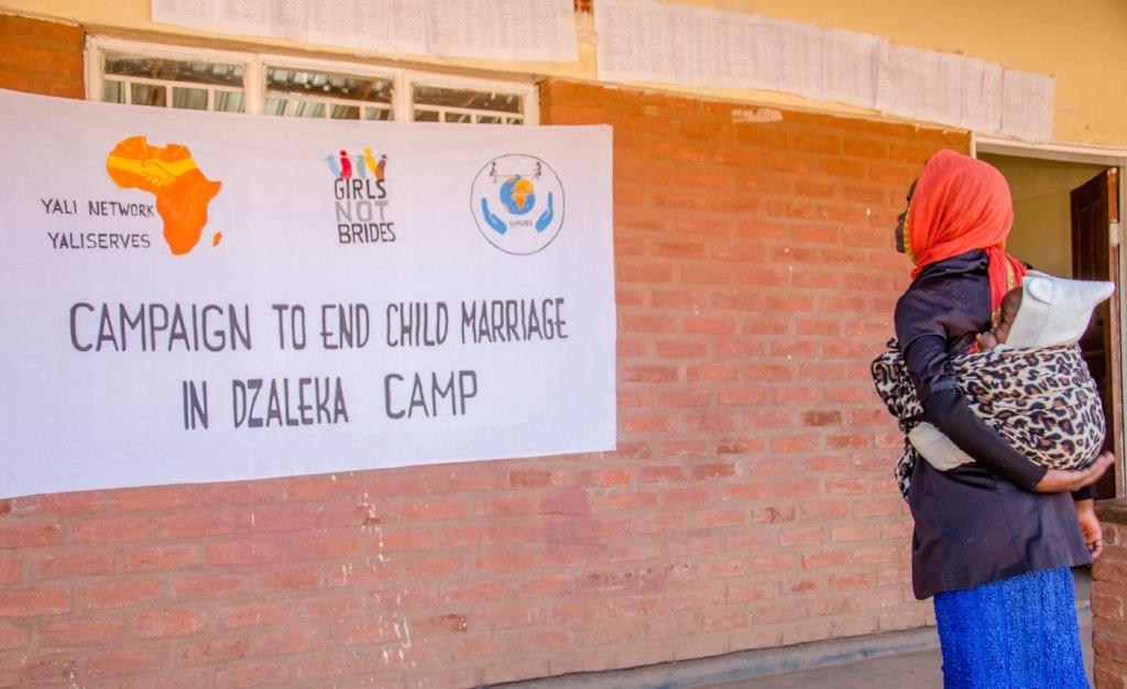 Help 100 teen moms return to school in Dzaleka