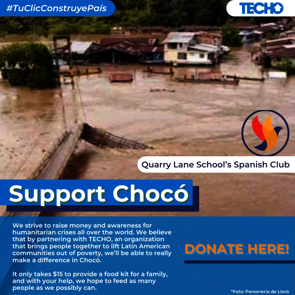 Support Choco with TECHO Colombia