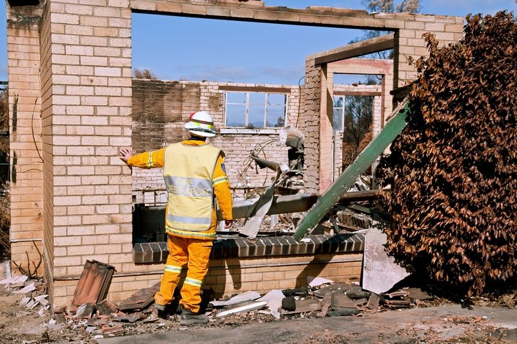 Rebuilding sustainable homes after bushfires