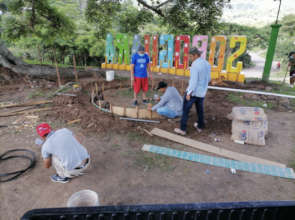 Construction of Park in Soroguara