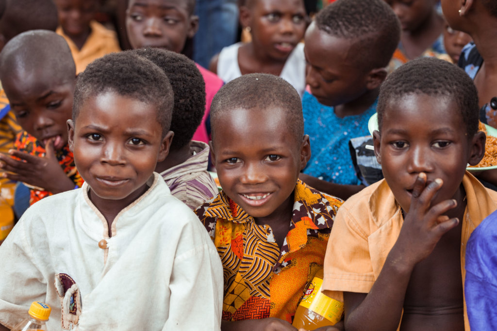 Gift a Christmas Meal to 500 Children in Ghana