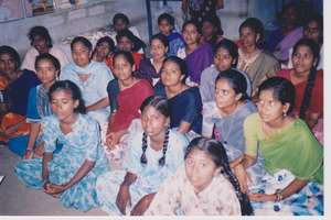view of dalit girls