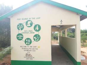 Clean Composting Toilets at Kisola PS!