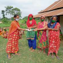 Microcredit loan from women's group
