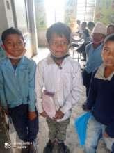 Children in one of our partner schools