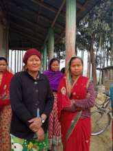 Chairwoman and treasurer, Ram Janaki women's group