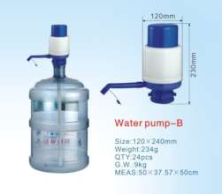Water dispensing pump&waterbottle cost $ 15