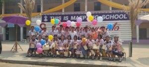2021 9th Grade Graduates Maepang Middle School