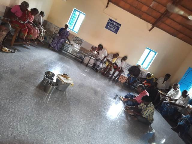 Ruadt Annapoorna midday meal programme for elderly