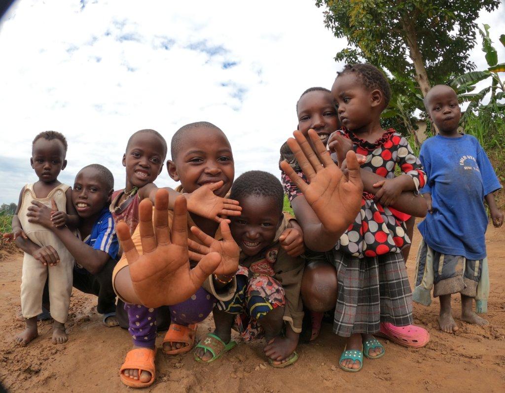 Playground for 842 students in Rwanda