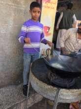 Asem one of the program student