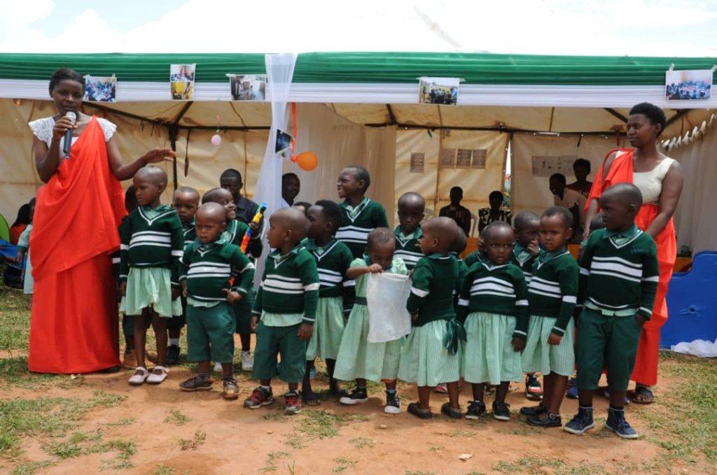 Inclusive daycare center for 45 children in Rwanda