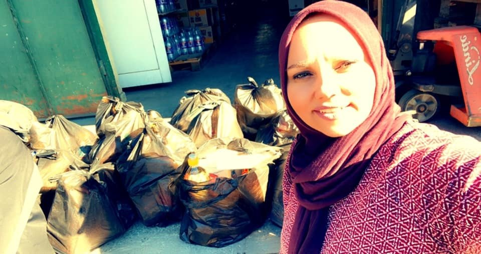Food supply for a refugee camp in Bulgaria