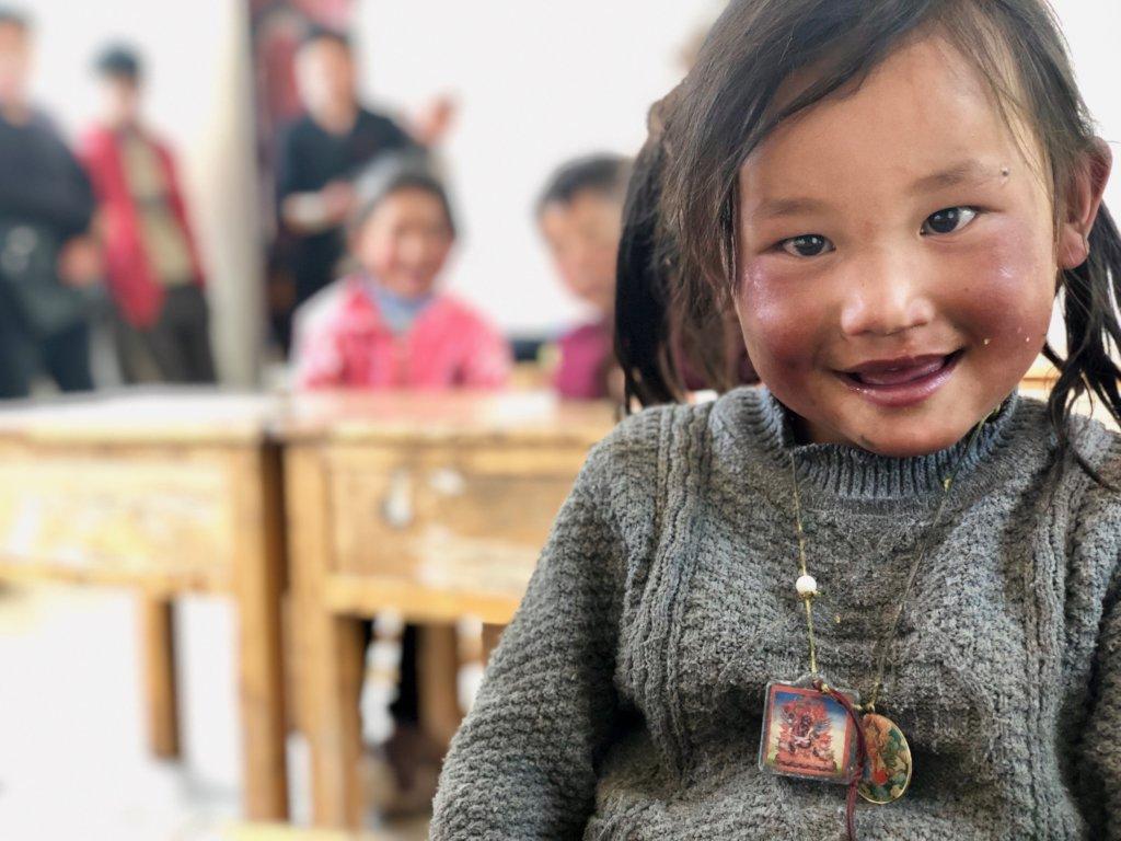 Education for Nomadic Children in Tibet