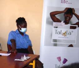 Talula cup presentation