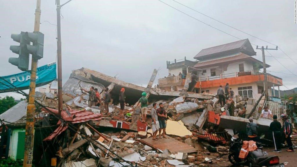 Emergency Response: Sulawesi's Earthquake