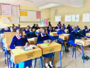 A class in session at St Martins Primary