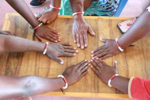 Menstruation bracelet - a global symbol