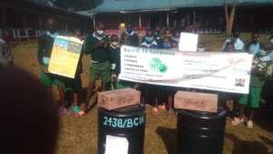 Handwashing where schools don't have running water