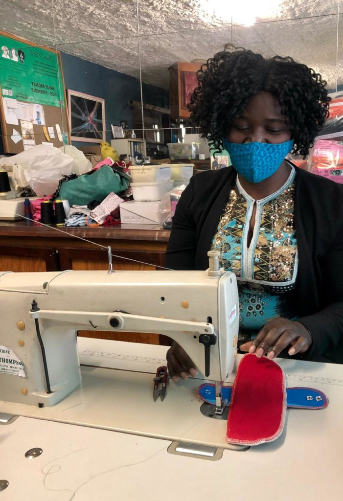 Female empowerment project in Namibia