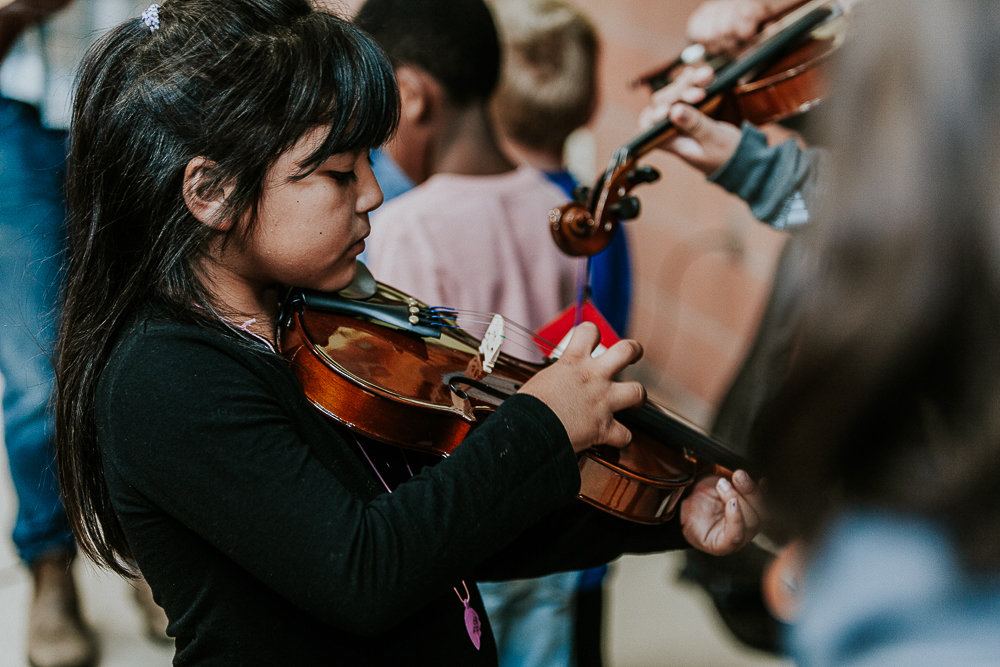 Empowering Girls with Instruments + Music Lessons