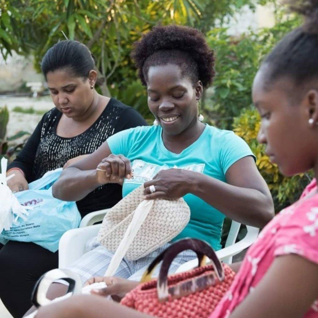 Empowering 43 female artisans in DR