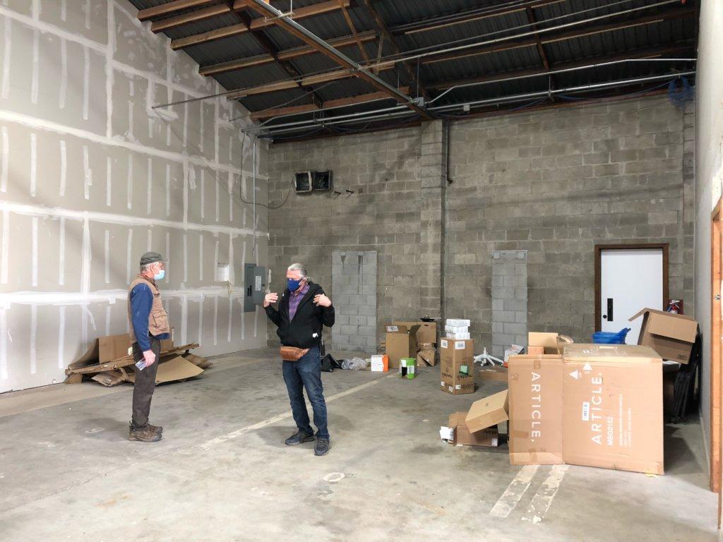Refurbishing Our New Furniture & Food Warehouse