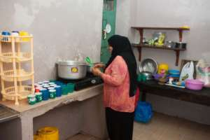 Before Kitchen for Daily Food Program