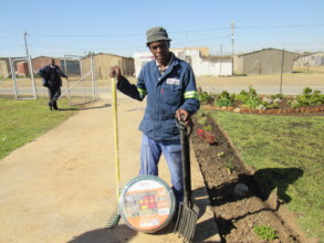 Community garden beneficiary