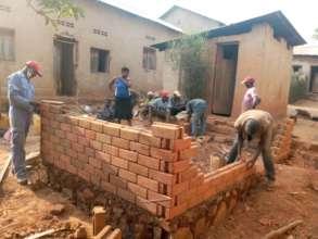 Village made bricks