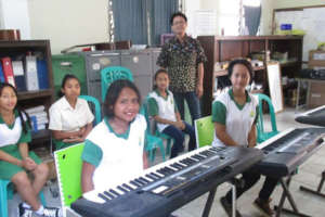 Pre-Covid-19: learning music