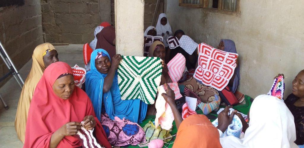 Sponsor 100 Women to Start a Crochet Business