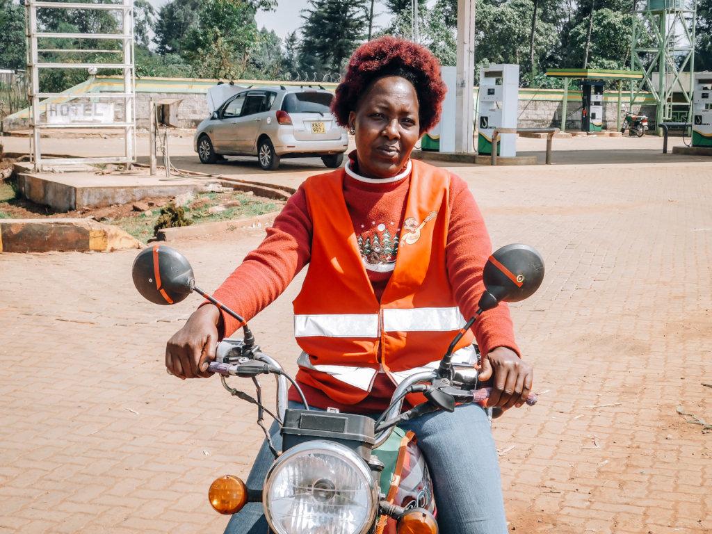 Female Motorcycle Taxi Drivers in Kenya