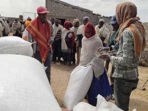 Distributing barley