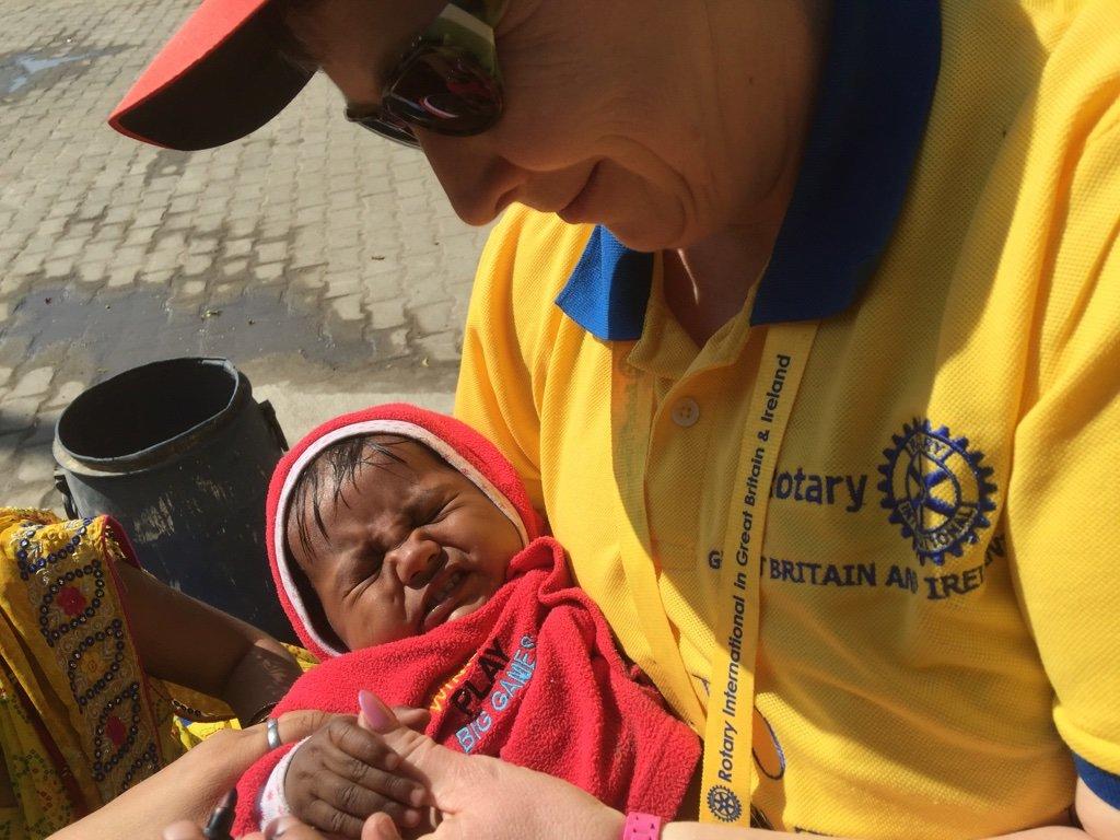 Polio - Help eradicate this terrible disease