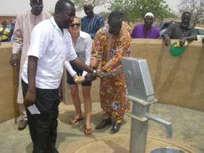 Clean water for a rural high school of Tangaye