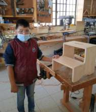 Flavio completes his first class project