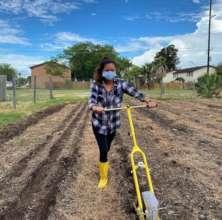Furloughed Restaurant Worker Grows Food