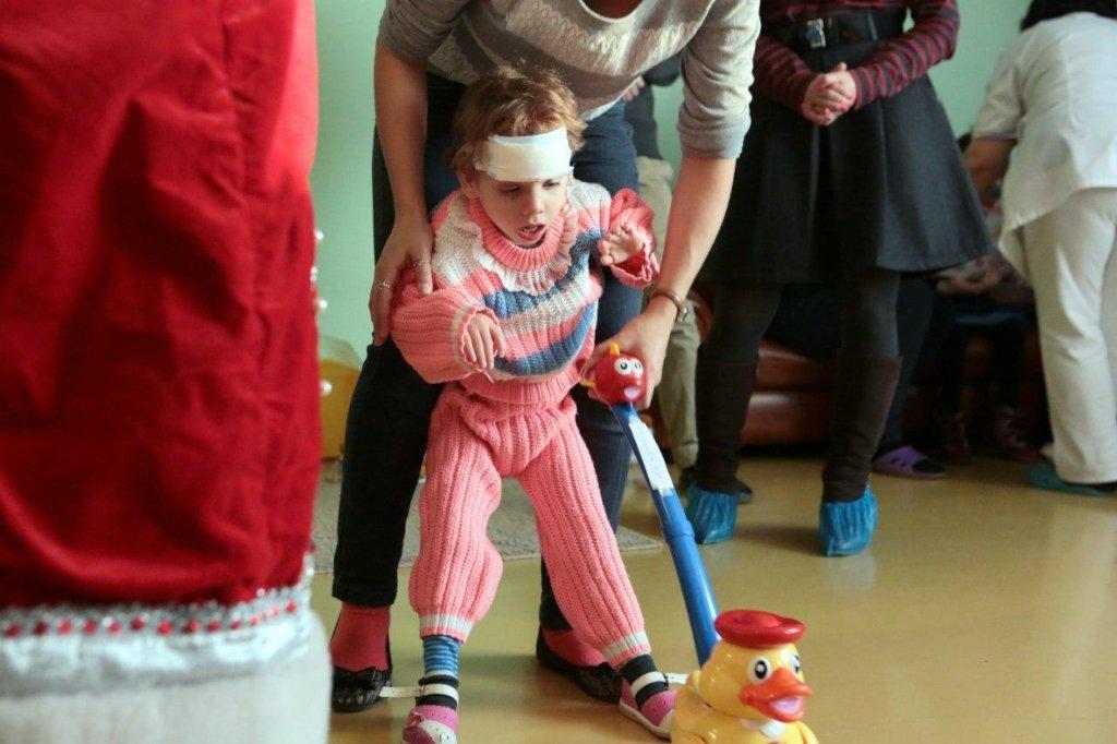 Help orphan children to get healthy