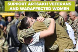 SUPPORT ARTSAKH VETERANS AND WARAFFECTED WOMEN