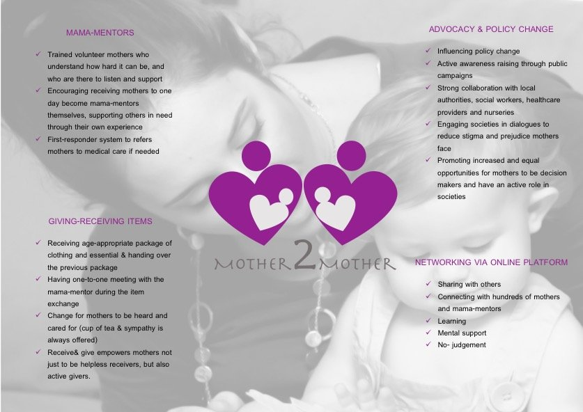 Mother2Mother - network for vulnerable mothers