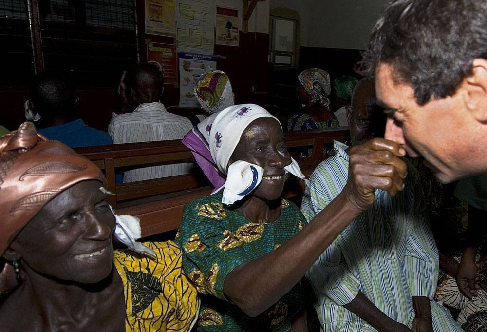 Outreach Eye Camps in Ghana