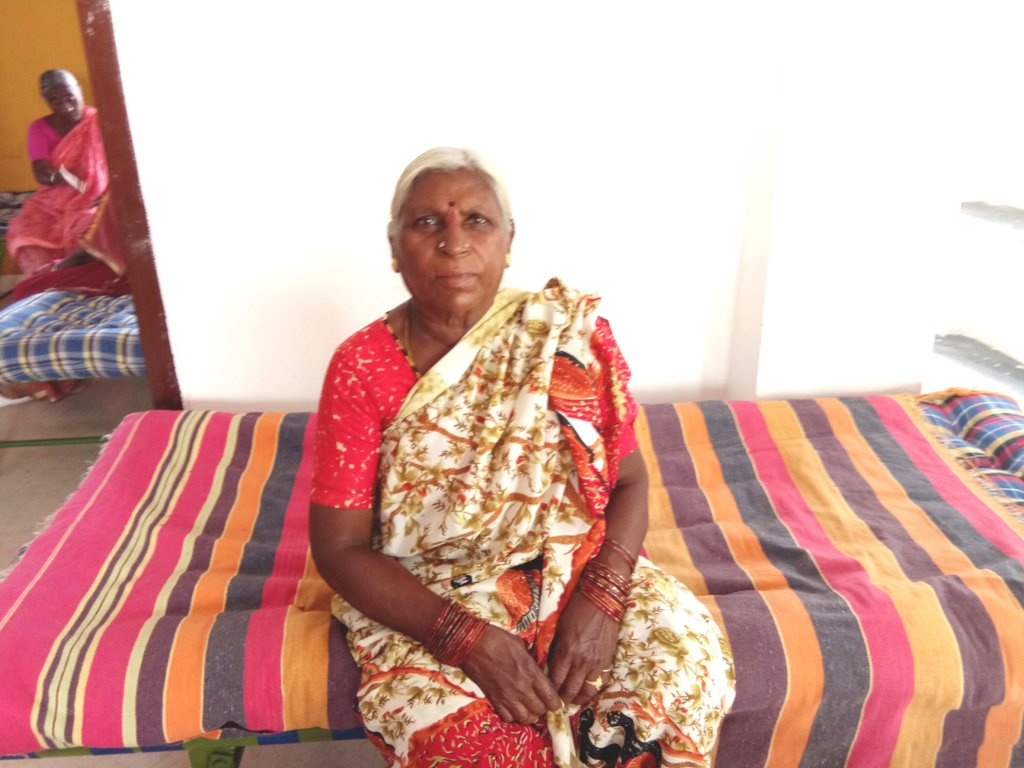 Support Cots and Beds for Oldage Poor Woman