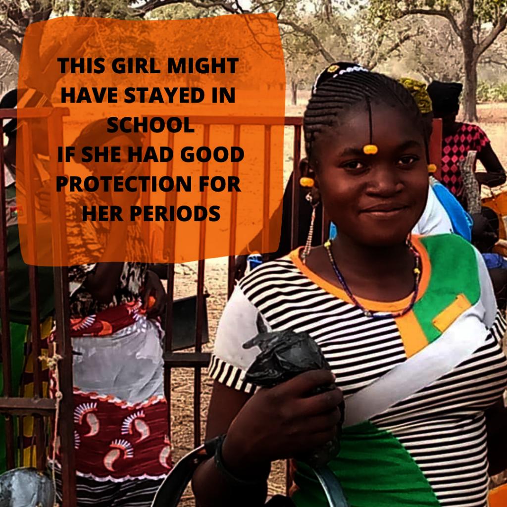 Proper menstruation protection for 2000 poor girls