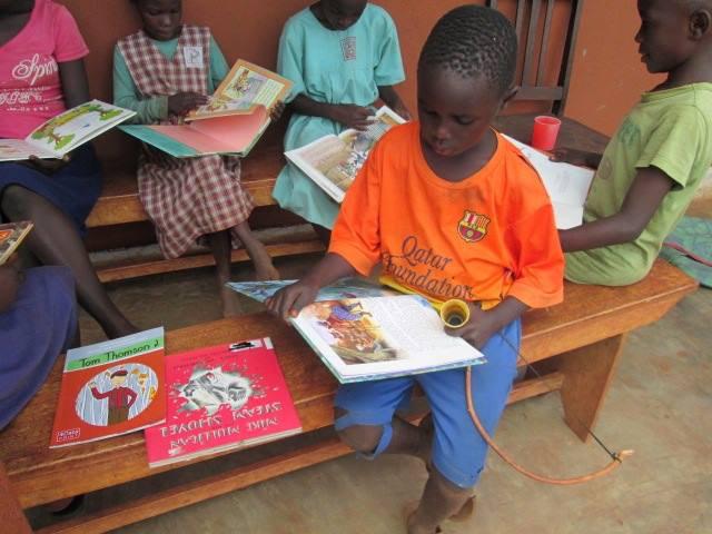 Building Libraries in Rural Uganda