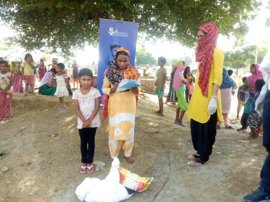 Covid-19: Aid to Slum Communities in India