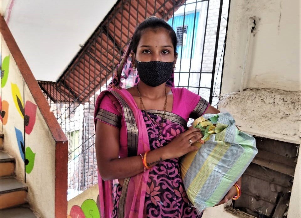 Food Security for 115 Families in COVID-hit Pune