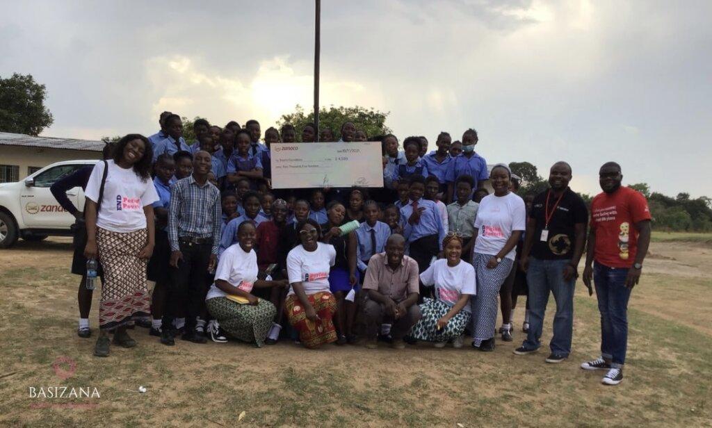 #EndMenstrualAbsenteeism for 300 Girls in Mkushi