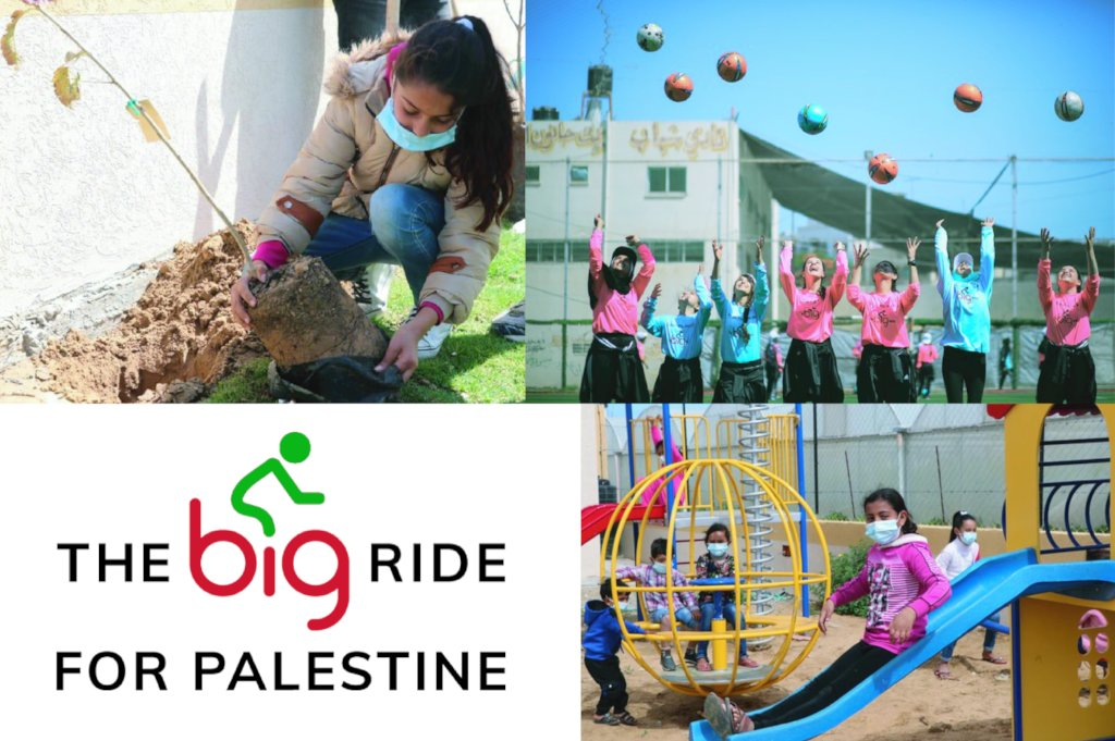 Big Ride 2021: Playground and Sportsfield in Rafah